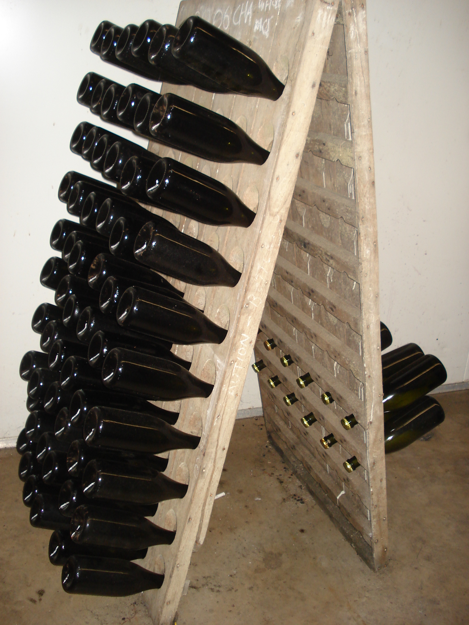100 bottle wine rack plans