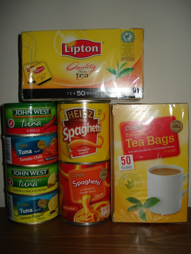 Examples of copycat products by Coles compared to the branded products