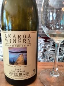 Akaroa Winery Cuvée Blanc 2009