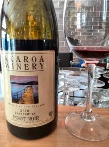 Akaroa Winery Pinot Noir 2010