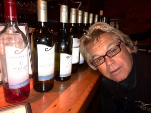 Tim Turvey, Clearview Estate founder, winemaker and owner