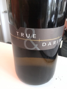 True and Daring riesling - 2007 the current release - delicious!