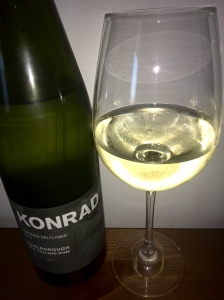Konrad's 2011 grüner glowing in the glass